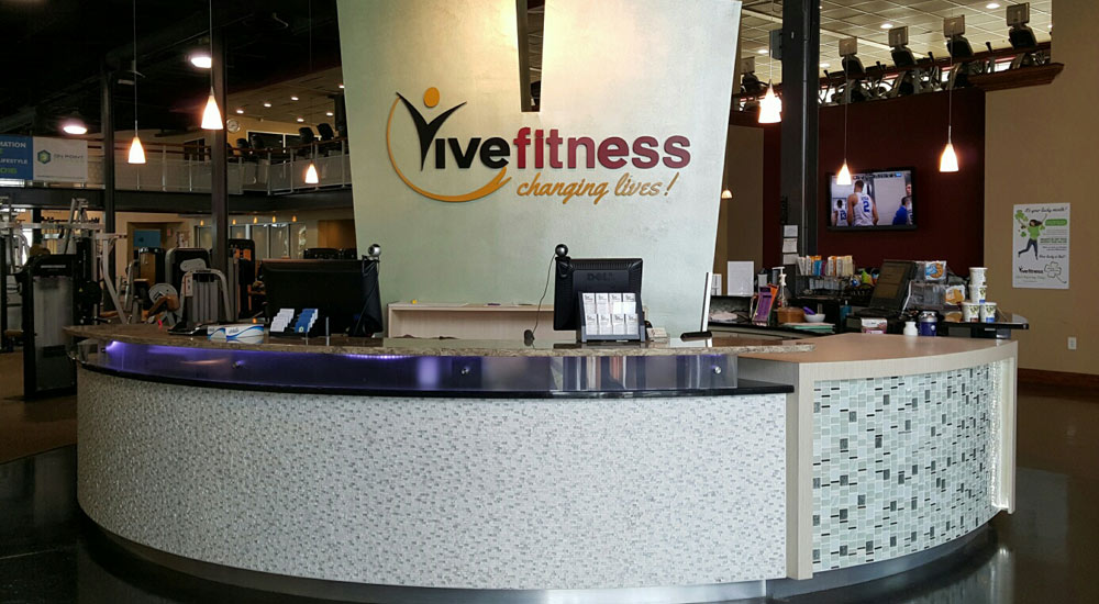 Front Desk at Vive Fitness, NJ