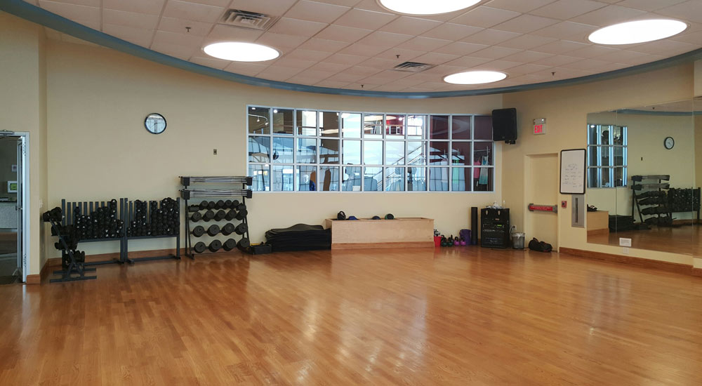 Group Exercise Room at Vive Fitness, NJ