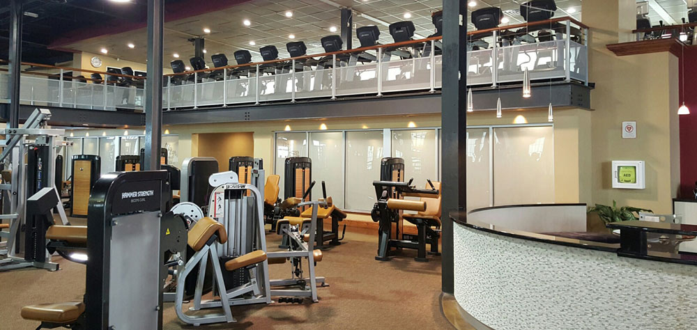 Gym Floor and Cardio Deck at Vive Fitness, NJ