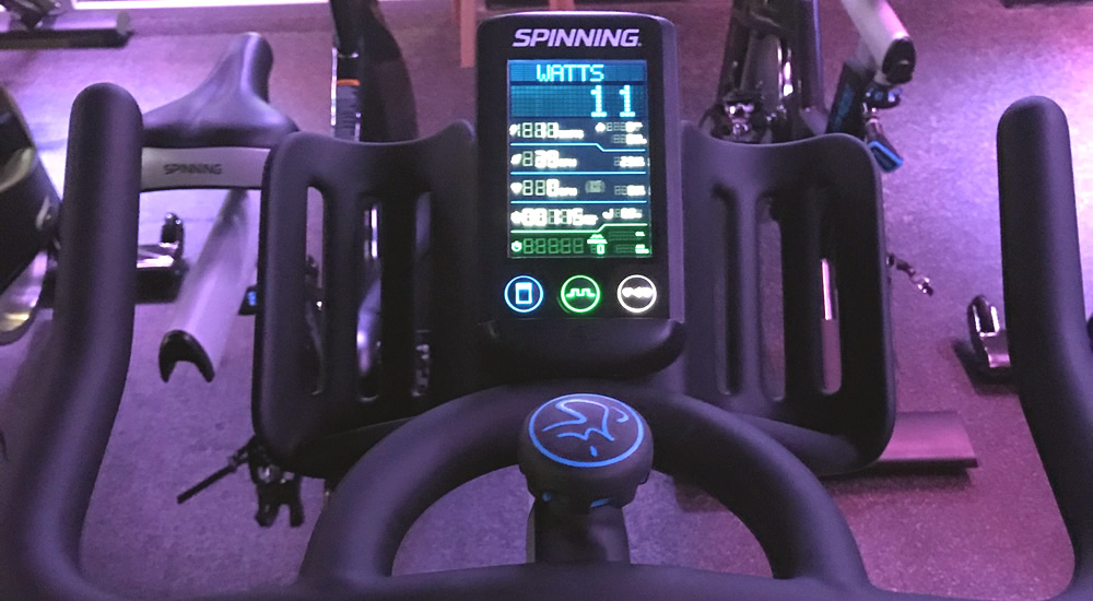 Chrono spin bike at Vive Fitness, NJ