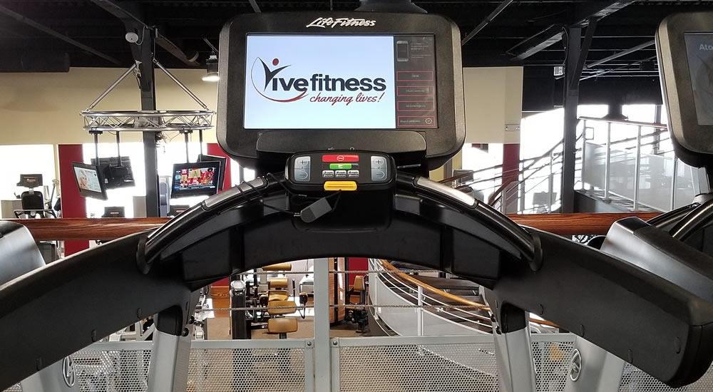 LifeFitness Treadmill at Vive Fitness, NJ